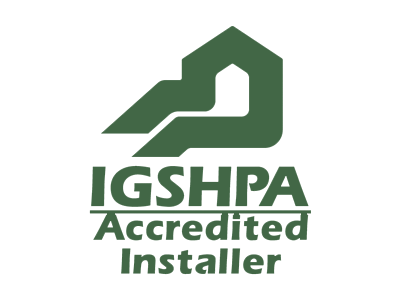 International Ground Source Heat Pump Association (IGSHPA) Accredited installer
